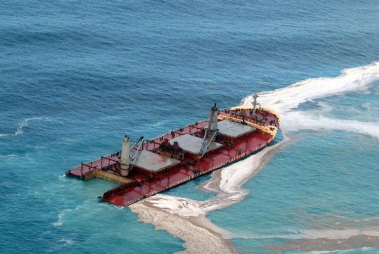 Oil Tanker Accident and Spill