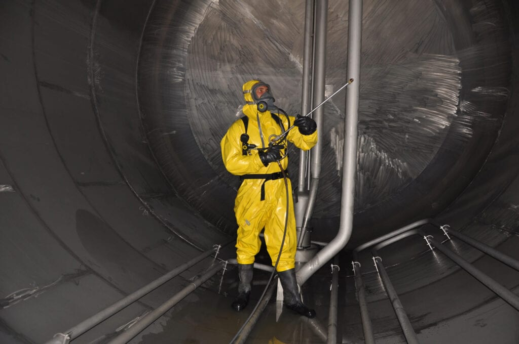 Chemical Tank Cleaning
